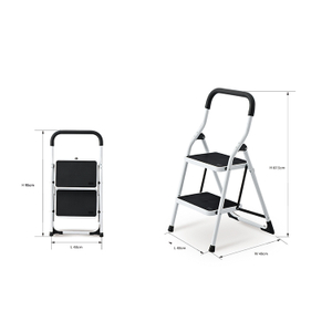 SM-TT6022A Promotional Extension Two Storied Ladder with Rubber Feet Stable Master