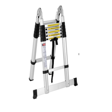 SM-LT809A Telescopic Ladder Aliminum Ladder