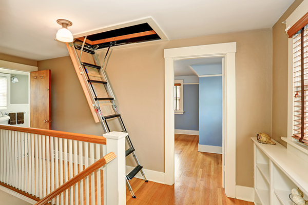 HOW TO START MY ATTIC STEPLADDER INSTALLATION